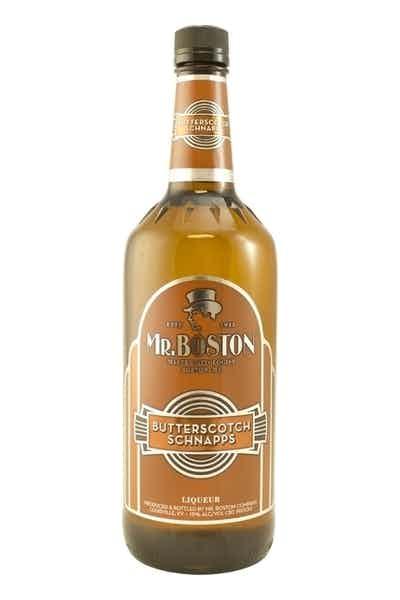 Mr Boston Butterscotch Schnapps