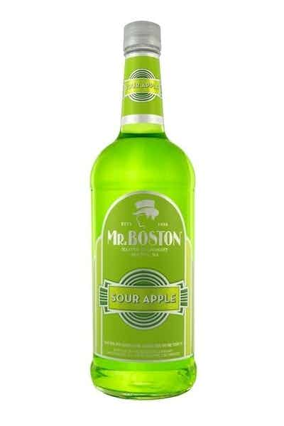 Mr Boston Sour Apple Schnapps
