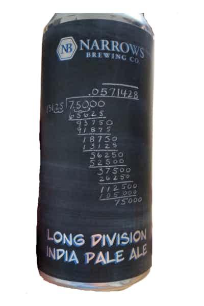 Narrows Long Division IPA