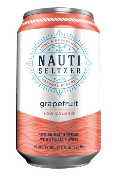Nauti Seltzer Grapefruit