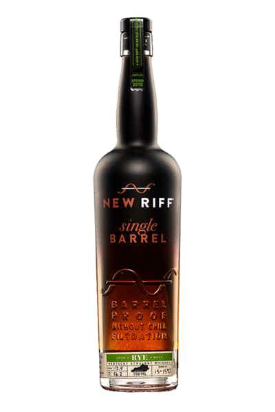 New Riff Single Barrel Rye Whiskey