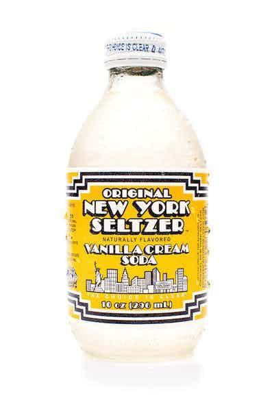 New York Seltzer Vanilla Cream Soda