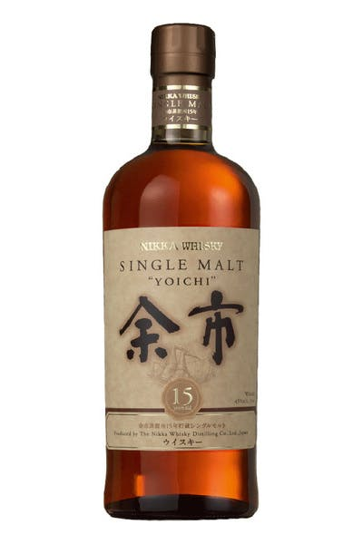 Nikka Yoichi Single Malt 15 Yr