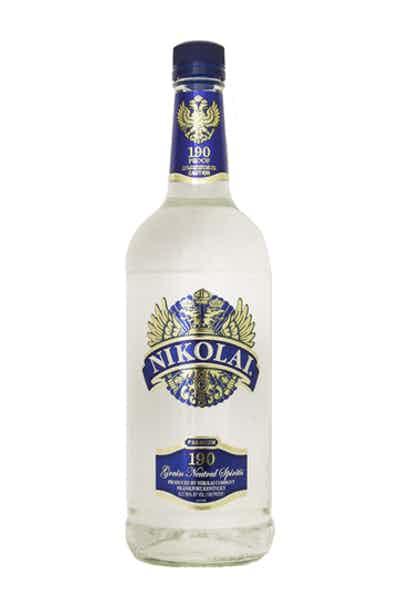 Nikolai 190 Grain Alcohol