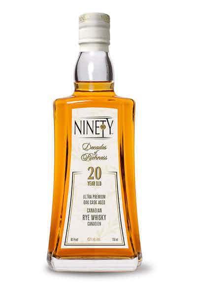 Ninety Canadian Whiskey 20 Year