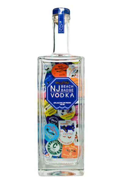 NJ Beach Badge Vodka
