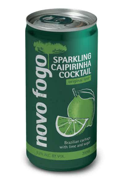 Novo Fogo Lime Sparkling Caipirinha Cocktail