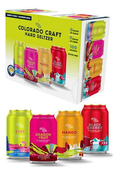 O&A Colorado Craft Hard Seltzer Variety Pack