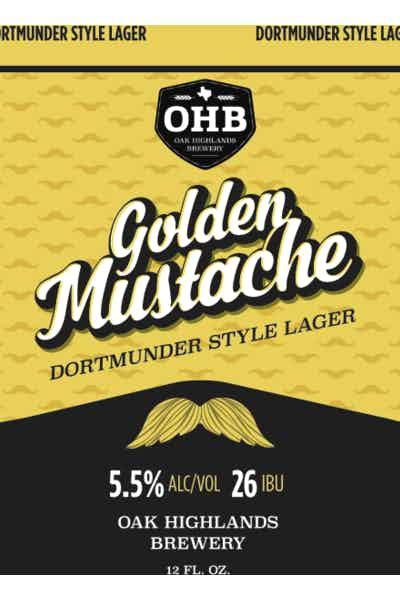 Oak Highlands Golden Mustache Dortmunder Lager