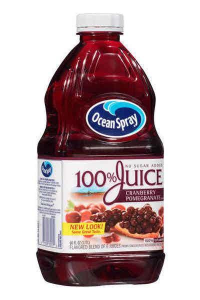 Ocean Spray 100% Juice Cranberry Pomegranate