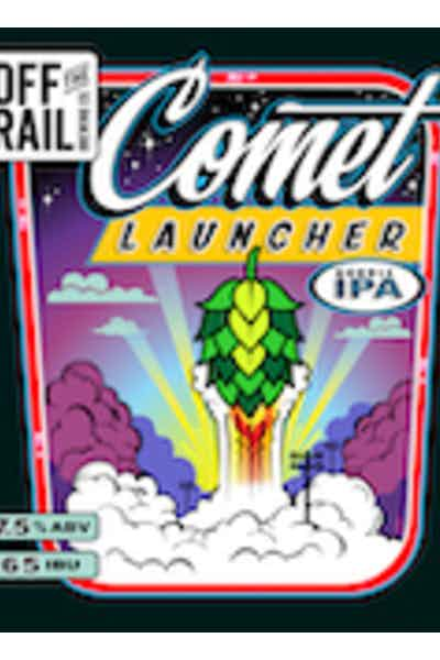 Off The Rail Comet Launcher Double IPA