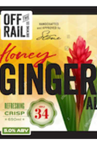 Off The Rail Honey Ginger Ale