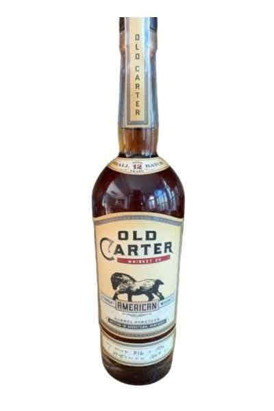 Old Carter 12 Year American Whiskey