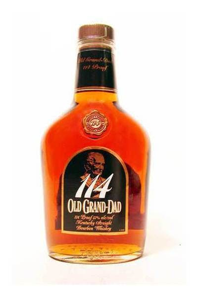 Old Grand Dad 114 Proof Bourbon Whiskey