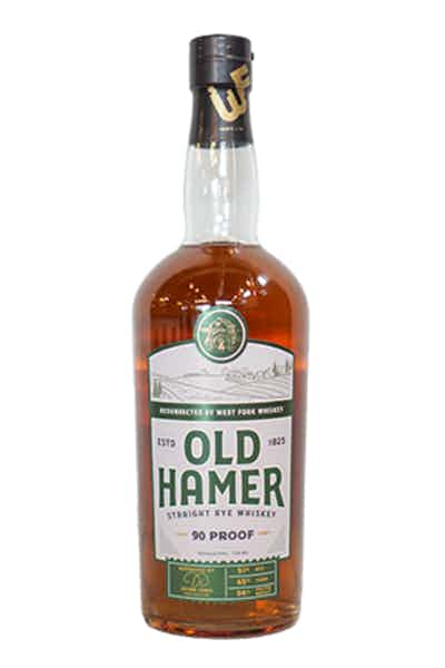 Old Hamer Straight Rye Whiskey 90 Proof