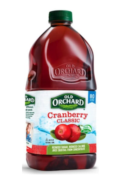Old Orchard Cranberry Cocktail
