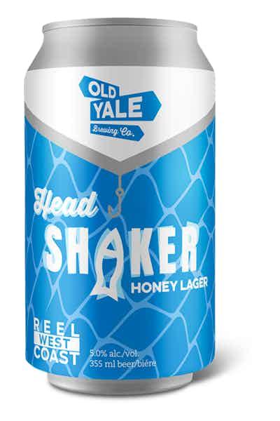 Old Yale Head Shaker Honey Lager