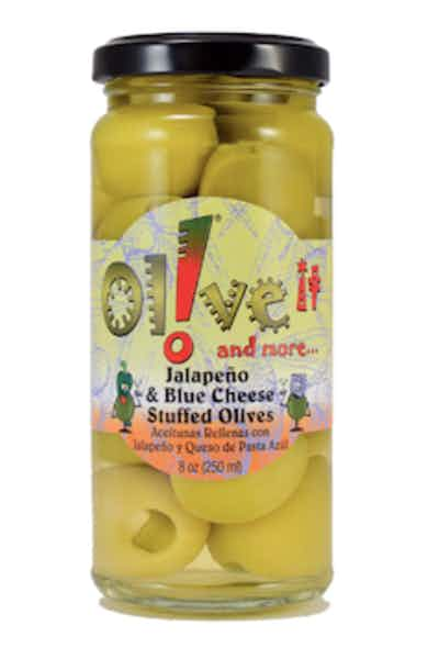 Olive-it Jalapeño & Blue Cheese Stuffed Olives