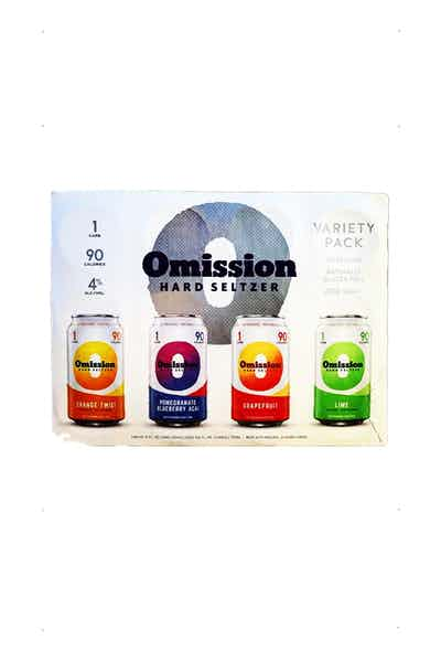 Omission Seltzer Variety Pack