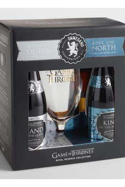 Ommegang Game Of Thrones Royale Reserve Collection Gift Pack