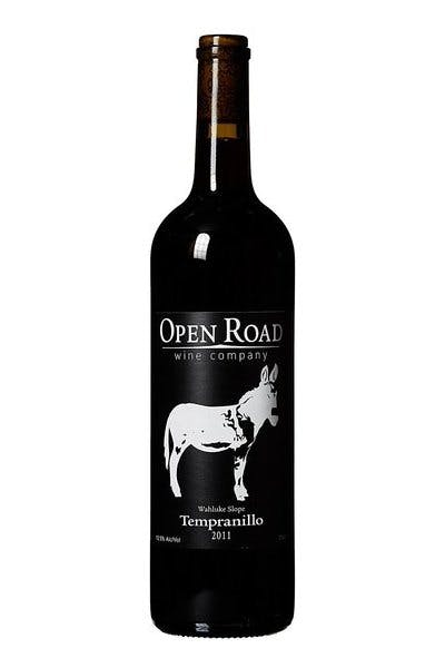Open Road Tempranillo