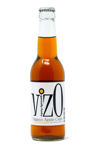 VizO Organic Apple Cider Elderflower