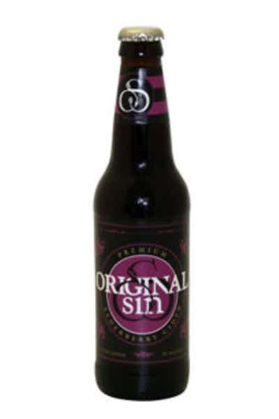 Original Sin Elderberry Cider