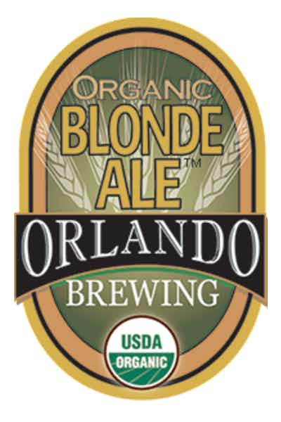 Orlando Brewing Organic Blonde Ale