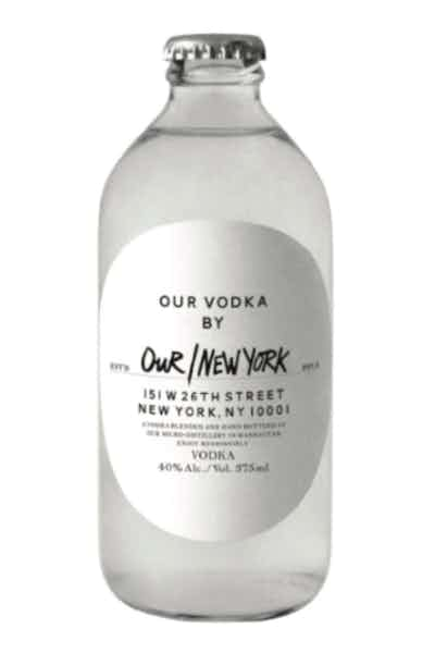 Our/New York Vodka Nyc