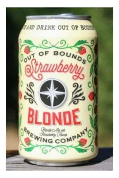 Out Of Bounds Strawberry Blond Ale