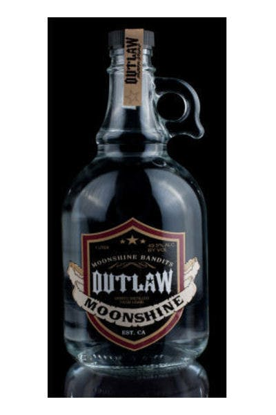 Outlaw Moonshine Whiskey