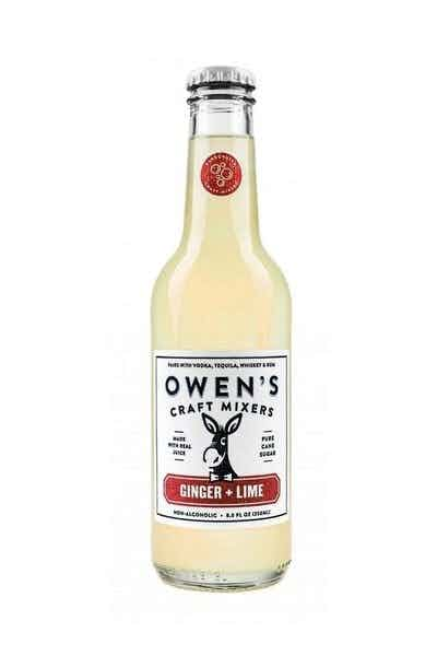 Owen's Craft Mixers Ginger + Lime