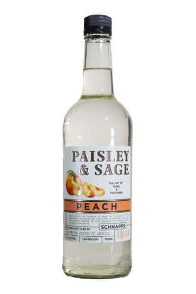 Paisley & Sage Peach Schnapps