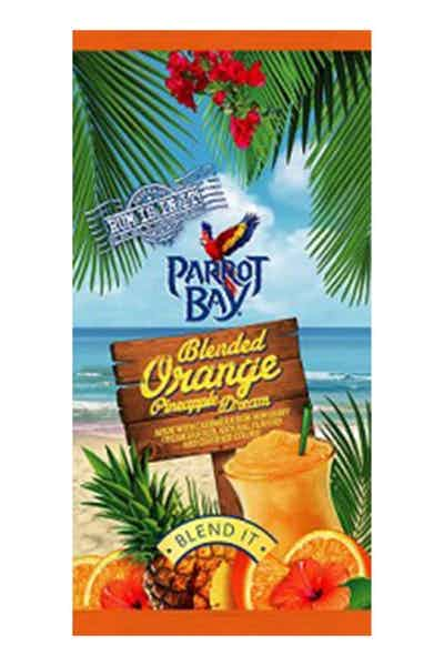 Parrot Bay Blended Orange Pineapple Dream