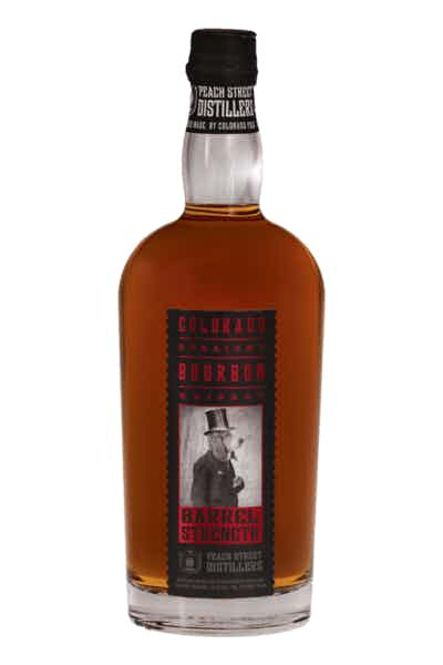 Peach Street Distillers Barrel Strength Straight Bourbon