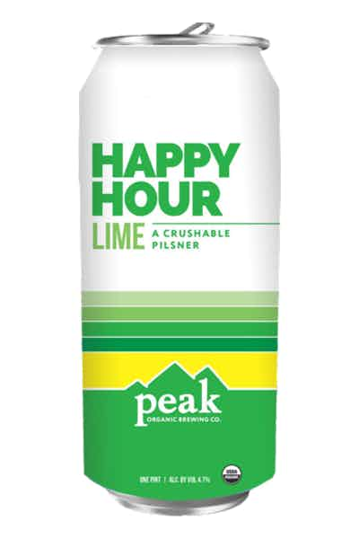 Peak Organic Happy Hour Lime