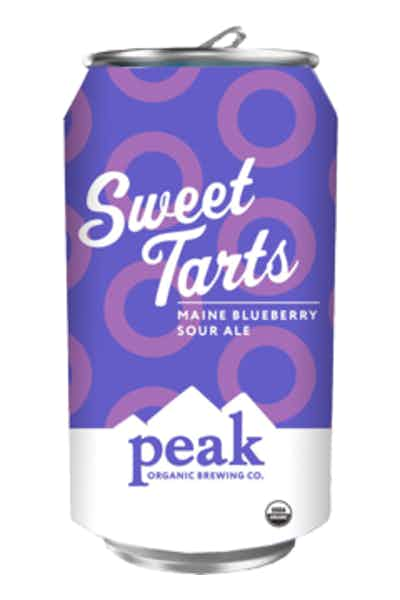 Peak Organic Sweet Tarts Blueberry Sour Ale