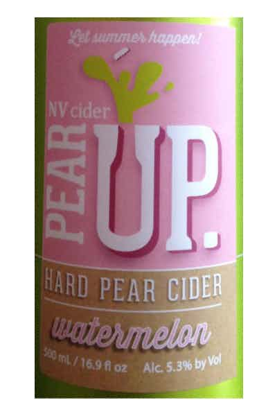 Pear Up Watermelon Hard Cider