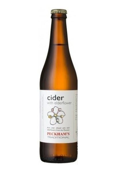 Peckhams Elderflower Cider