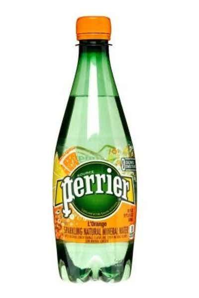 Perrier Sparkling Natural Mineral Water L'Orange