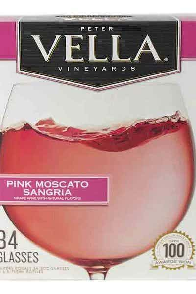 Peter Vella Pink Moscato Sangria