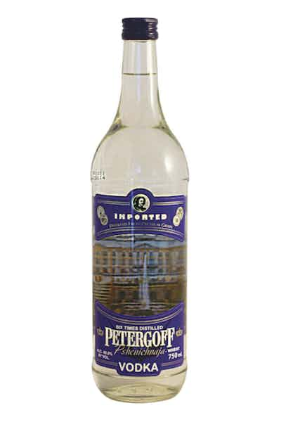 Petergoff Russian Vodka