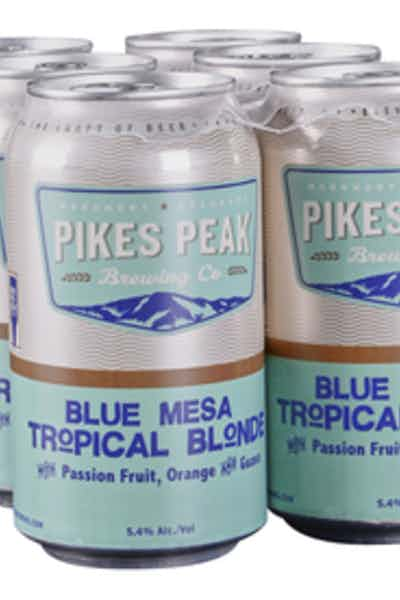 Pikes Peak Blue Mesa Tropic Blonde