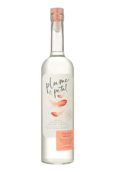Plume & Petal Peach Wave Vodka
