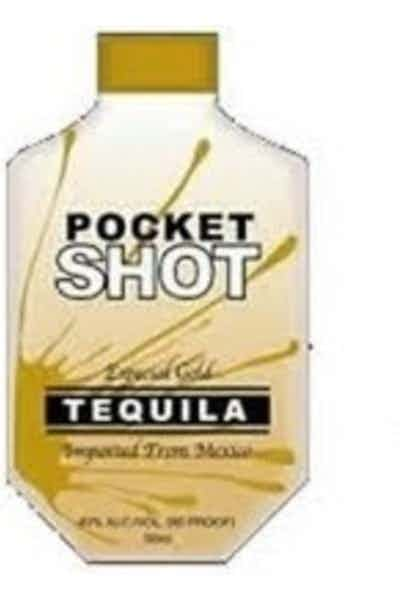 Pocket Shot Tequila Gold