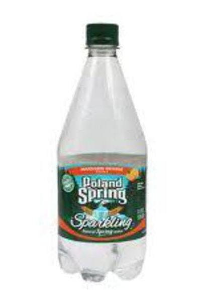 Poland Spring Mandarin Orange Sparkling Water