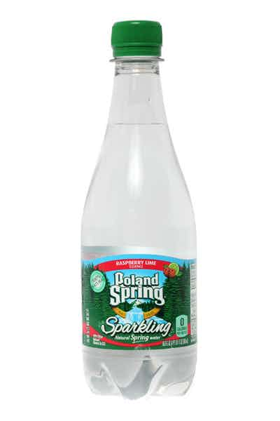 Poland Spring Raspberry Lime Sparkling Water
