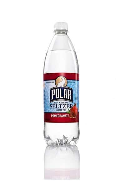 Polar Pomegranate Seltzer