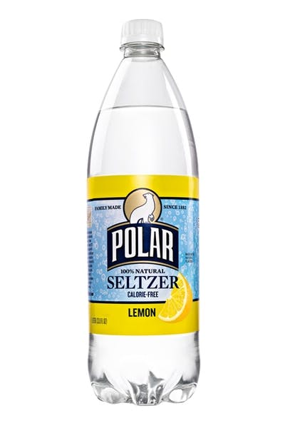 Polar Seltzer Water Lemon