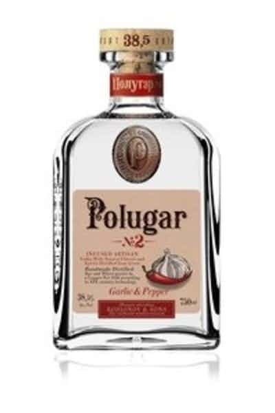 Polugar #2 Garlic & Pepper Flavored Vodka